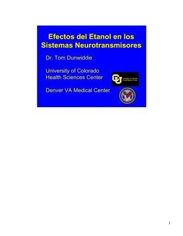 Efectos del Etanol en los Sistemas Neurotransmisores Efectos del ...