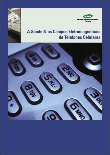 A Saúde & os Campos Eletromagnéticos de Telefones Celulares