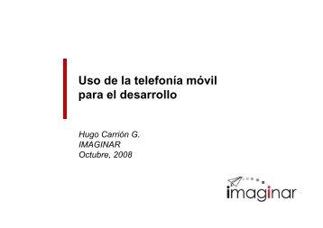 Uso de la telefonía móvil para el desarrollo - Imaginar