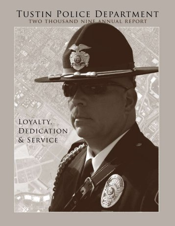 2009 Annual Report - Tustin Police Department