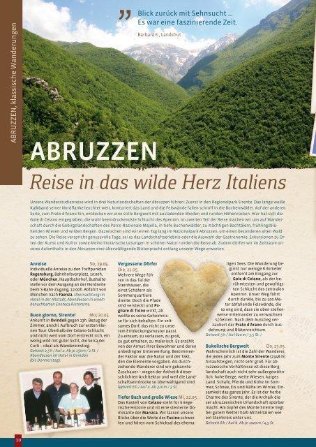 Im ältesten Buchenwald Europas z Italiens - Erde und Wind