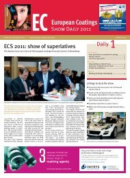 Daily 1 - European Coatings SHOW