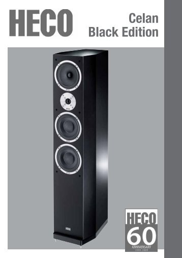 Celan Black Edition - Blue Sound