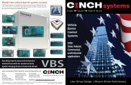 Vehicle Barrier Control Systems - Cinch Systems Inc.