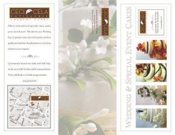 wedding brochure - Ceci Cela