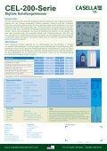 CEL-200-Serie Digitale Schallpegelmesser - Casella Measurement - Seite 2