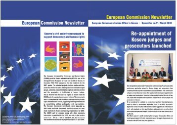 European Commission Newsletter No. 11 - Europa