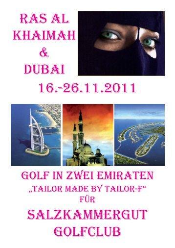 Stand 13.05.2011 - Salzkammergut Golfclub