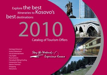 Catalog of Tourism Offers - Kosovo Guide