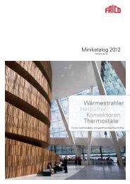 Frico Minikatalog 2012 - Heizprodukte (3 Mb) - Systemair