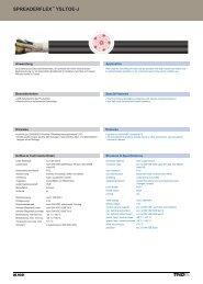 spreaderflex ysltoe-j spreaderflex ysltoe-j - TKD KABEL GmbH