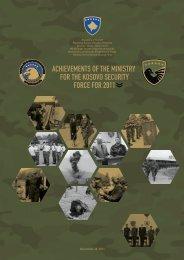 arritjet e ministrisë për forcën e sigurisë së kosovës në vitin 2011 ...