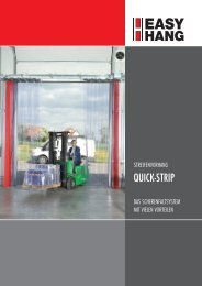 QUICK-STRIP - EASY HANG Streifenvorhänge