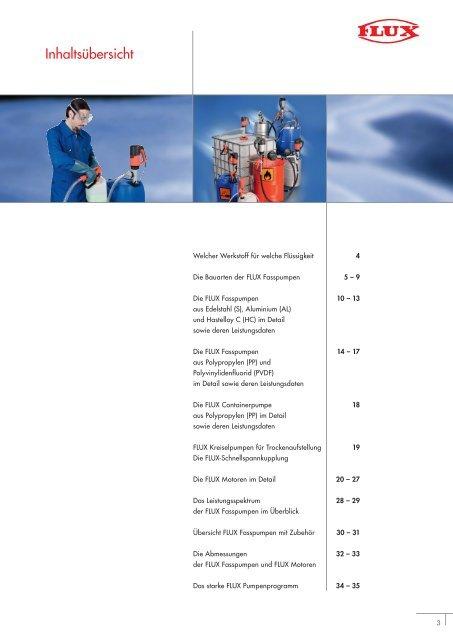 Fass- und Containerpumpen 0112 d.pdf - Flux Geräte GmbH