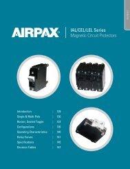 IAL/CEL/LEL Series Magnetic Circuit Protectors - Airpax - Sensata