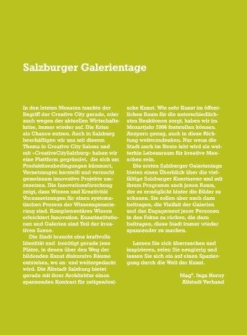 Galerien der Stadt Salzburg Museumspavillon - Altstadt Salzburg
