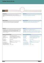 therm-1250-gli/ga-ea therm-1250-gli/ga-ea - TKD KABEL GmbH