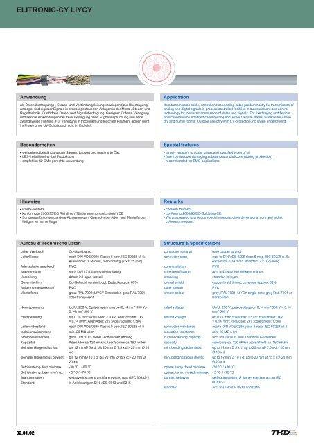 elitronic-cy liycy elitronic-cy liycy - TKD KABEL GmbH