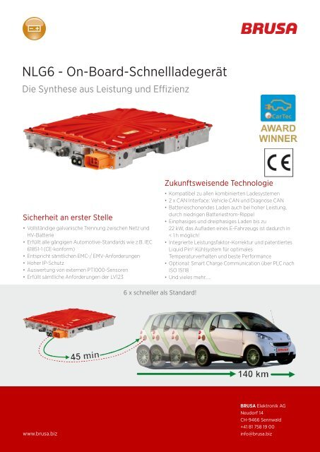 Download Datasheet (.pdf) - Brusa Elektronik AG