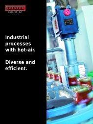 Industrial processes with hot-air. Diverse - Hot Air Guns, Plastic ...