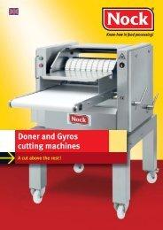 Doner and Gyros cutting machines - NOCK GmbH