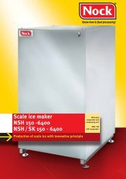 Scale ice maker NSH 150 -6400 NSH/SK 150 - 6400 - NOCK GmbH