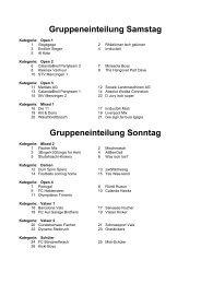 Spielplan Sonntag, 10. Juli 2011 - FC Vals