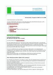 CE-Newsletter, Ausgabe 5/2008 vom 2.5.2008 Liebe ...