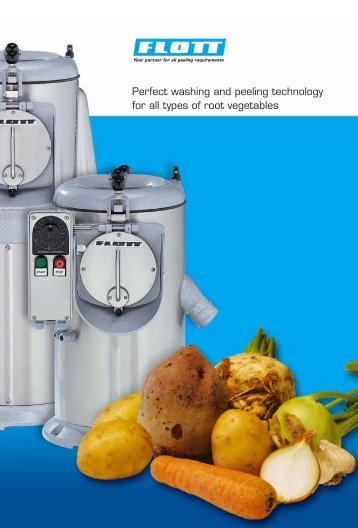 Flott Washing & Peeling Technology
