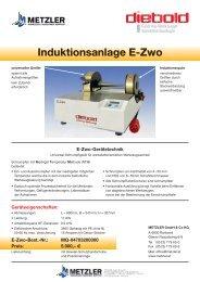 Induktionsanlage E-Zwo - Metzler