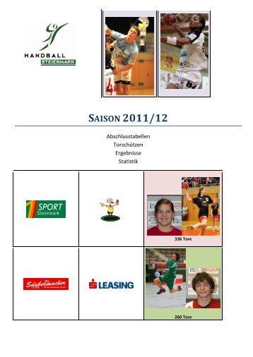 SAISON 2011/12 - Steirischer Handball Verband