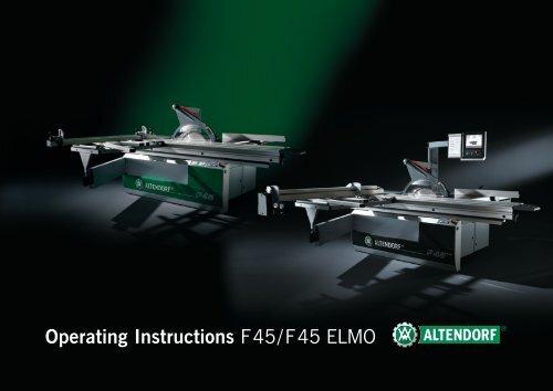 New products altendorf.