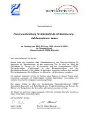 Zur Einladung und Anmeldung - Fachhochschule des Mittelstands