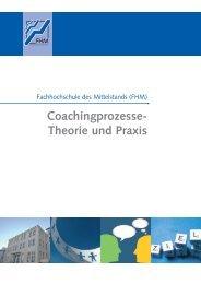 Coaching – Theorie und - Fachhochschule des Mittelstands