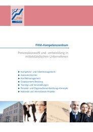 FHM-Kompetenzzentrum - Fachhochschule des Mittelstands