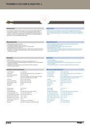trommelflex ksm-s - TKD KABEL GmbH