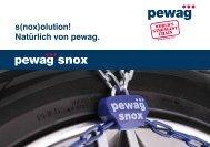 Zuordnungsliste pewag snox - ROUS GmbH
