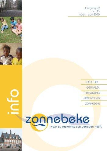 Jaargang 29 nr. 145 maart - april 2010 - Gemeente Zonnebeke