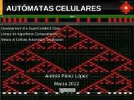 AUTÓMATAS CELULARES - Andrés Pérez López | personal website