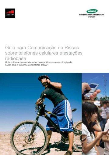 Guia para Comunicação de Riscos sobre telefones celulares - GSMA