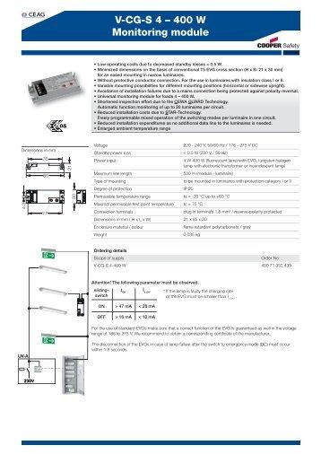 V-CG-S 4 – 400 W Monitoring module - Acasa   Intec Automatizari