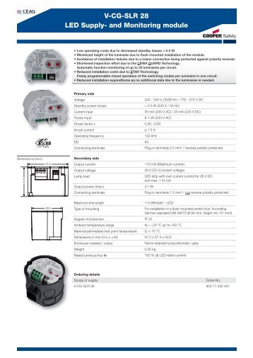 v cg slr 28 led supply and monitoring module acasa intec ?quality=85 schaltpl�ne wiring dia Basic Electrical Wiring Diagrams at webbmarketing.co