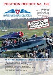 POSITION REPORT No. 199 - AOPA Switzerland