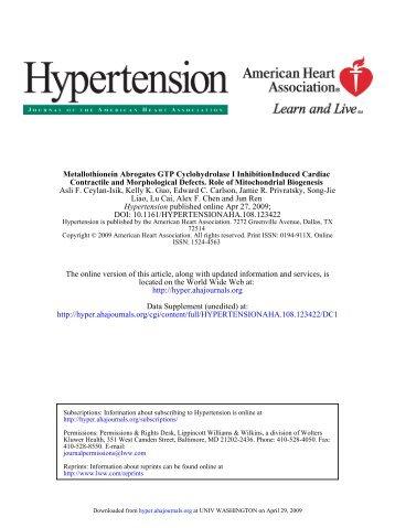 DOI: 10.1161/HYPERTENSIONAHA.108.123422 published online ...