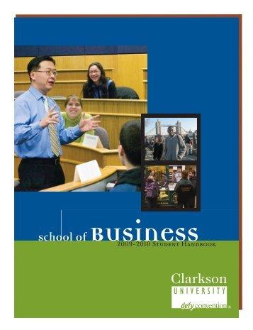 School of Business - Clarkson University