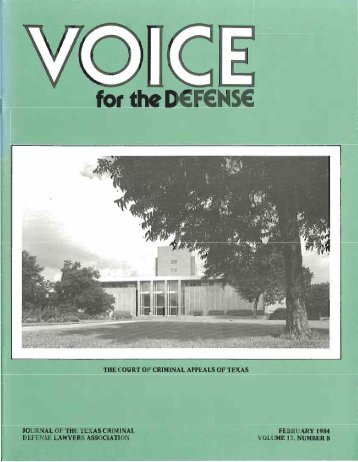 3 - Voice For The Defense Online