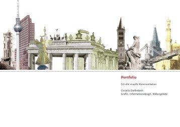 Portfolio - cedie - Visuelle Kommunikation