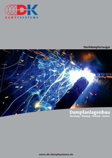 Dampfanlagenbau - DK Dampfsysteme