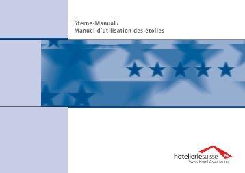 Sternemanual (PDF, 3.9 MB) - Hotelleriesuisse