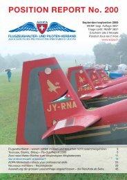 POSITION REPORT No. 200 - AOPA Switzerland